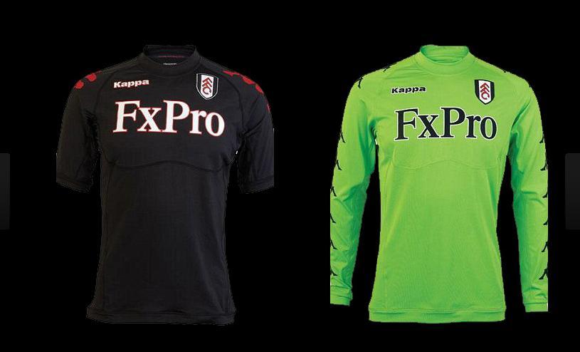 Fulham escolheu o preto e inovou com um  verde fluorescente  – Divulgação d64bf90d1f886